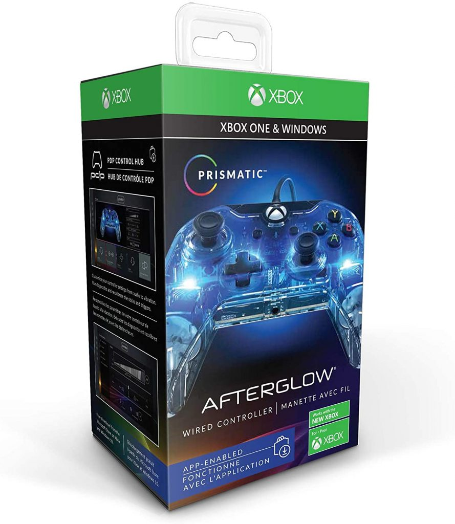 manette afterglow xbox one changer couleur