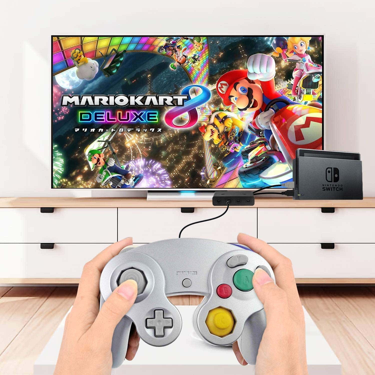 Manette Gamecube compatible Switch